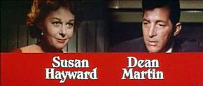 Description de l'image  Susan Hayward and Dean Martin in Ada trailer.jpg.