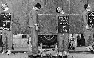 Hazza' al-Majali - Suspects in Majali's assassination hanged, 31 December 1960.