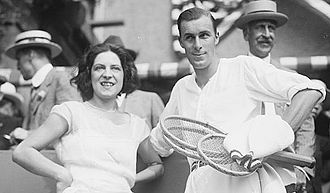 Suzanne Lenglen - Image: Suzanne Lenglen and Bill Tilden