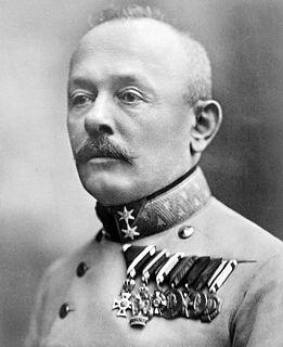 Svetozar Boroević Austro-Hungarian field marshal