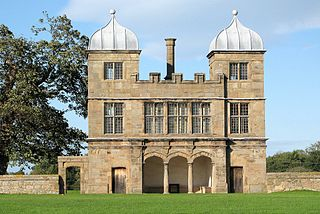 Swarkestone Hall Pavilion Grade I listed architectural structure in South Derbyshire, United Kingdom