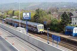 Sydenham railway station, Northern Ireland in 2007.jpg