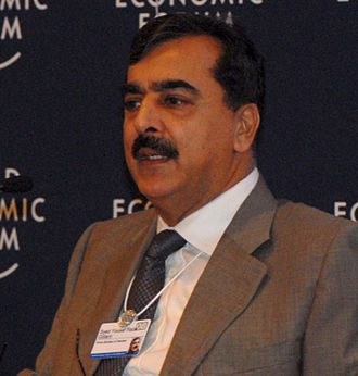 Gillani ministry - Image: Syed Gillani World Economic Forum on the Middle East 2008