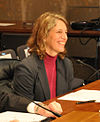 Sylvia Mathews Burwell at April 2013 Senate nomination hearing.jpg