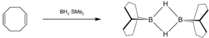 9-Borabicyclo(3.3.1)nonane - Image: Synthesis of 9 BBN dimer