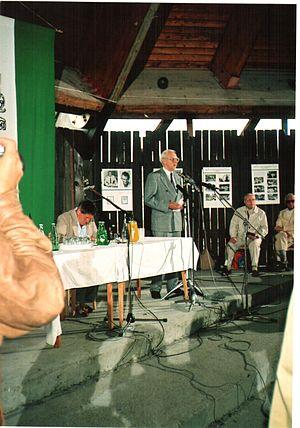 Minister of Civilian Intelligence Services (Hungary) - Image: Szárszó 1993 Konferencia (14)