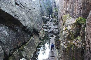 Stołowe Mountains National Park - Image: Szczeliniec Wielki
