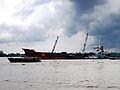 Tàu ở khu vực Cảng Mỹ Thới.jpg