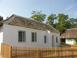"Anabaptist Museum (Austria) - The so-called ""Kleinhäuslerhaus"" from Wilfersdorf houses now the first museum of Anabaptist history in Austria"