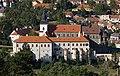 Třebíč, zámek, z vodojemu Na Kostelíčku (cropped).jpg