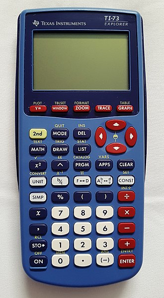 TI-73 series - Image: TI 73 Explorer