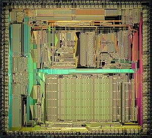 TMS34010 - Die of TMS34082