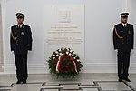 Tablica upamiętniająca śp. prezydenta Lecha Kaczyńskiego w Sejmie.jpg