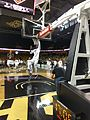 Tacko warming up before the Colorado game (33463445435).jpg