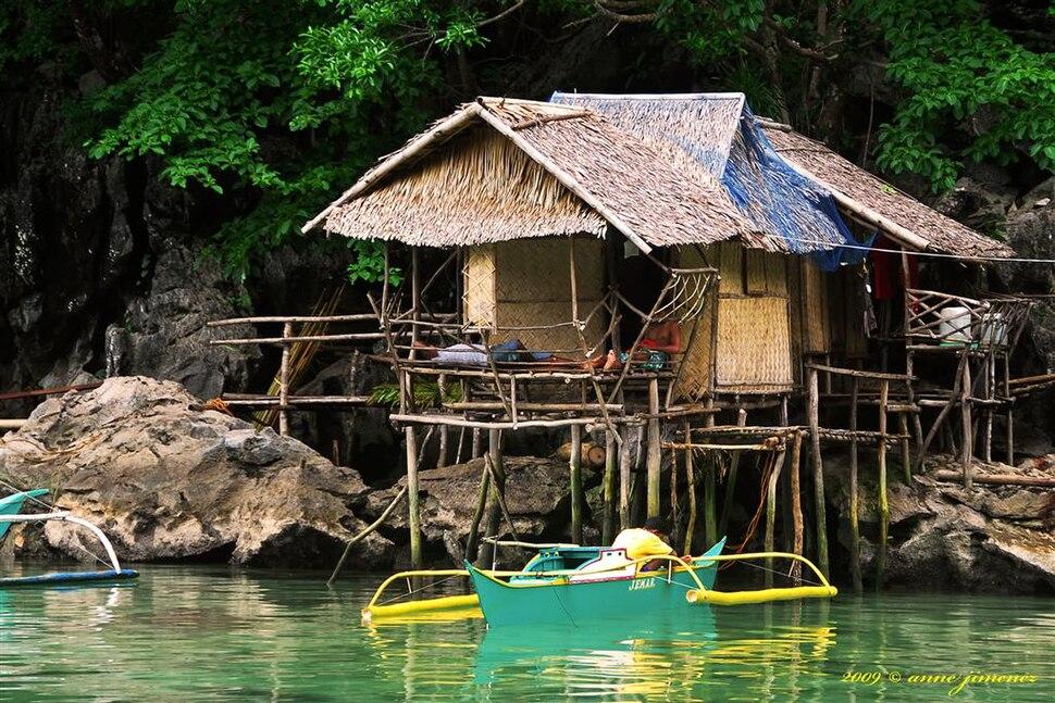 Tagbanua hut