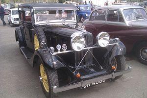 Darracq Motor Engineering Company - 1934 Talbot AX65, body by Darracq