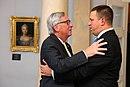 Tallinn Digital Summit. Welcome dinner hosted by HE Donald Tusk. Handshake (37121374490).jpg
