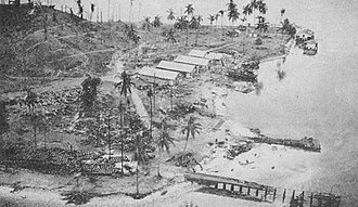 Tanambogo - After bombardment, August 7, 1942