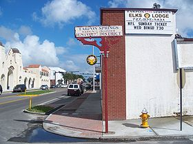 Tarpon Springs hist dist sign01.jpg