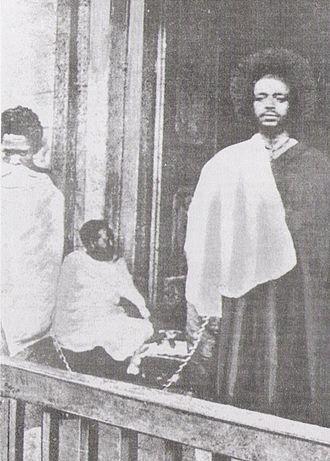 Kingdom of Kaffa - Gaki Sherochi in 1897