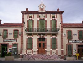 The town hall of Tautavel