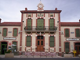 Tautavel - The town hall of Tautavel