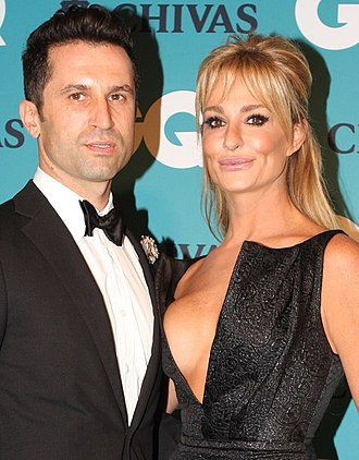 Taylor Armstrong - Armstrong with John Bechini in November 2012