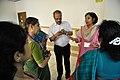Tea Break Discussion - VMPME Workshop - Science City - Kolkata 2015-07-15 8470.JPG