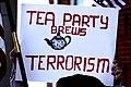 Tea Party Brews Terrorism sign (4468883253).jpg