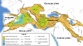 Geology of the Alps - Wikipedia, the free encyclopedia