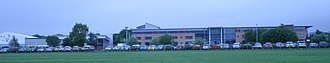 Telford College - the campus, viewed from the north, in May 2013.