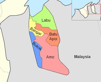 Mukims of Brunei - Mukims of Temburong district