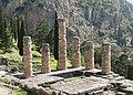 Temple of Apollo in Delphi - columns 03.jpg
