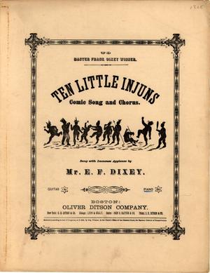 Ten Little Injuns - Image: Ten Little Injuns 1868