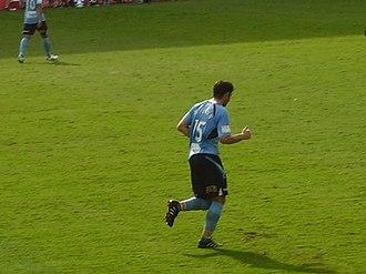 Terry McFlynn - Terry McFlynn in action for Sydney FC, 2010.