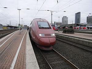 Dortmund Hauptbahnhof - Thalys, Dortmund-Paris-North