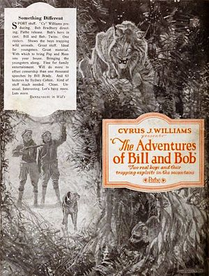 The Adventures of Bob and Bill - Advertisement