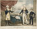 The Army & Navy, Genl. Washington presenting Captain Barry with his Commission.jpg