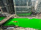 The Chicago River turns green for St. Patrick's Day. 2018 (40826527072).jpg