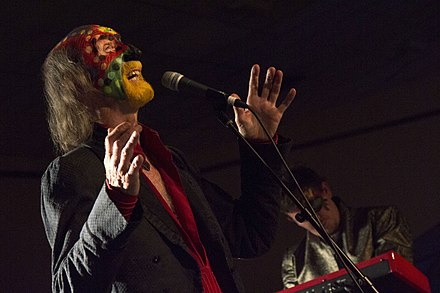 The Crazy World of Arthur Brown at Musicport in Whitby, England in 2014 The Crazy World of Arthur Brown (15396473559).jpg