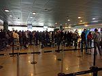 The Customs Lineup in Bogota (25558123670).jpg