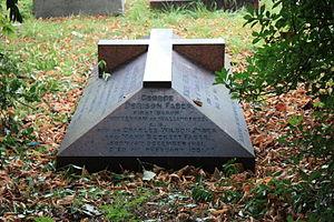 Denison Faber, 1st Baron Wittenham - The Faber grave, Brompton Cemetery