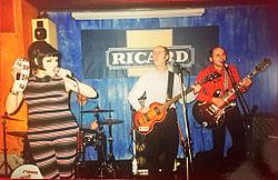 Auftritt von The Flake im Kurzen Eck 1998