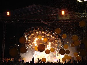 The Flaming Lips - The Flaming Lips at Dfest in July 2007