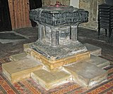 The Font, Church of St. Lawrence, Thornton Curtis - geograph.org.uk - 1523590.jpg