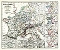 The Frankish kingdom under the Merovingians up to the time of Charlemagne 486-768 (Spruner-Menke, map 29).jpg