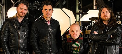 Picture of a band or musician: The Fray