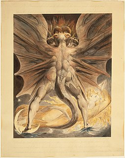 group of paintings by William Blake