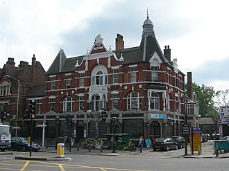 Herne Hill - The Half Moon pub, which was flooded in August 2013.