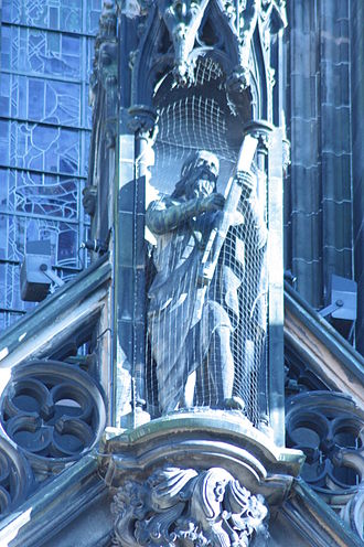 The Lay of the Last Minstrel - The Harp of the North from The Lay of the Last Minstrel, Scott Monument, Edinburgh